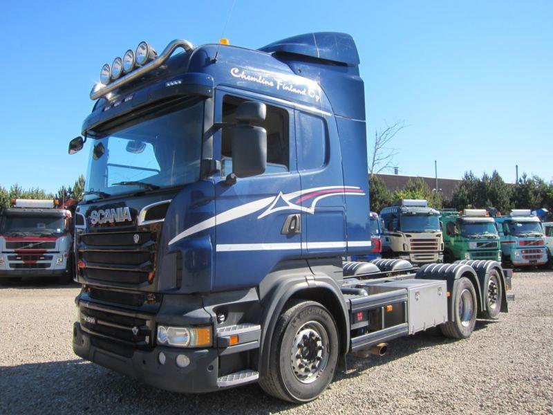Диагностика грузовиков Скания