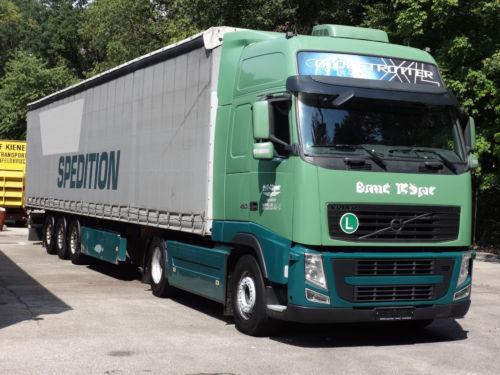 Ремонт двигателя грузовика Вольво